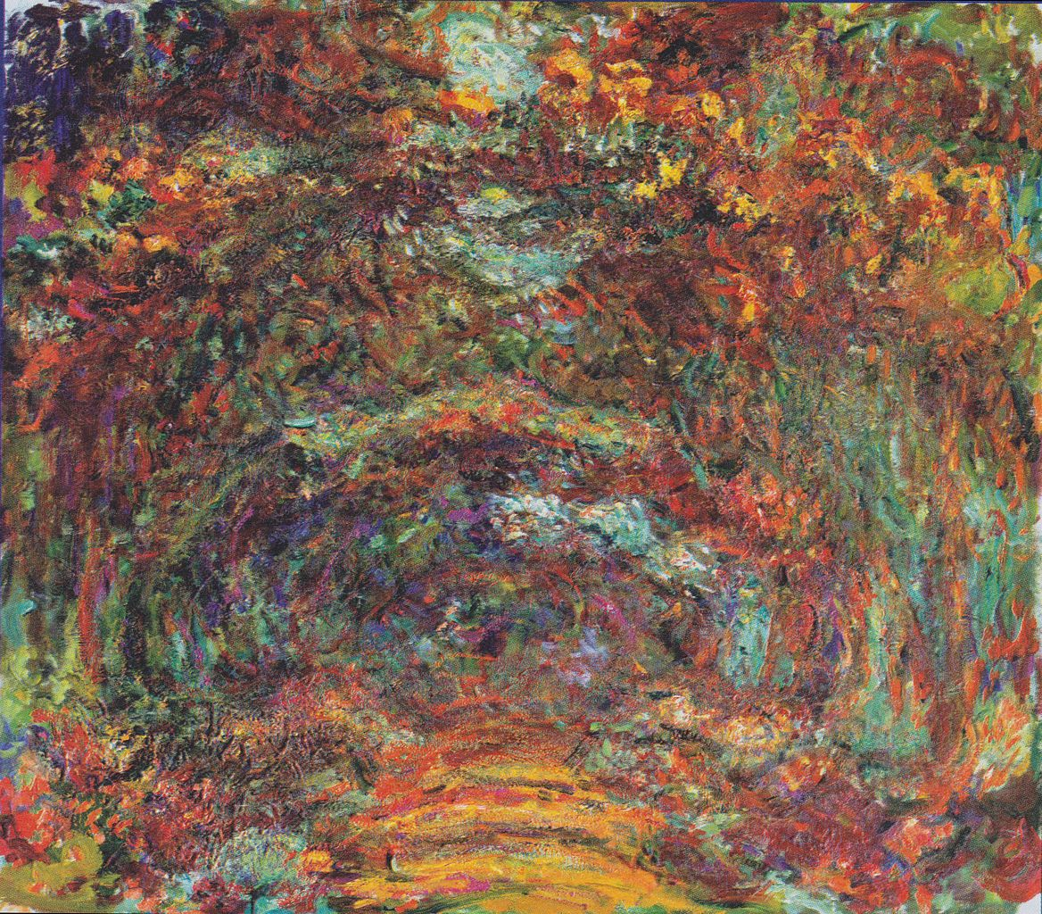 The Rose Walk, Giverny, 1920–22, Musée Marmottan Monet