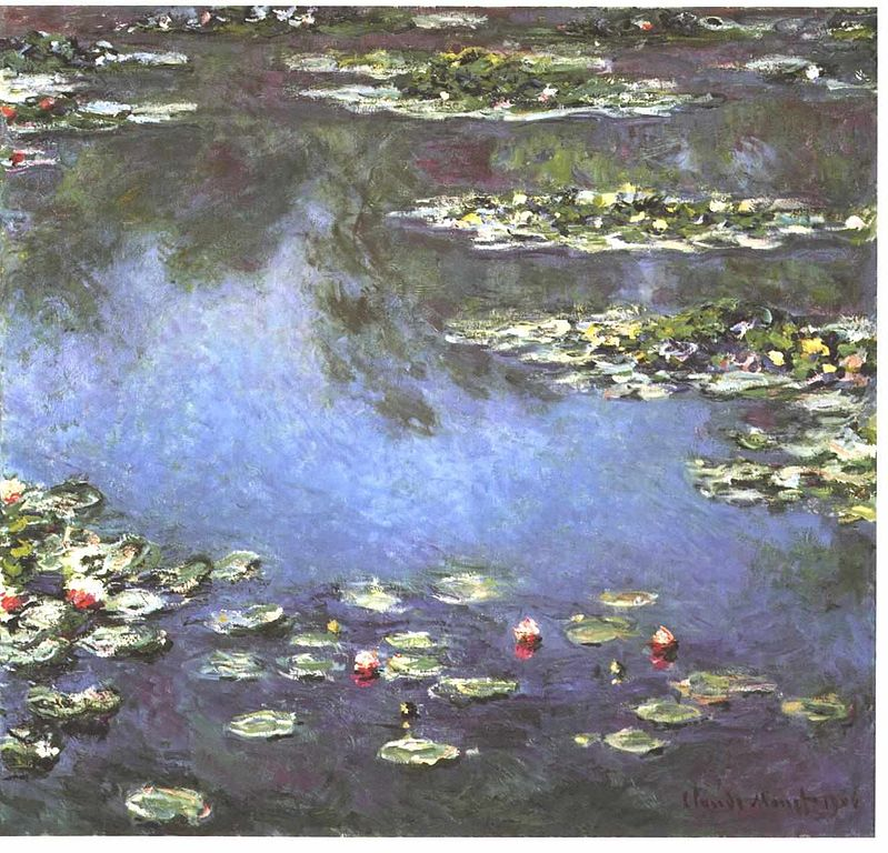 Water Lilies, 1906, Art Institute of Chicago