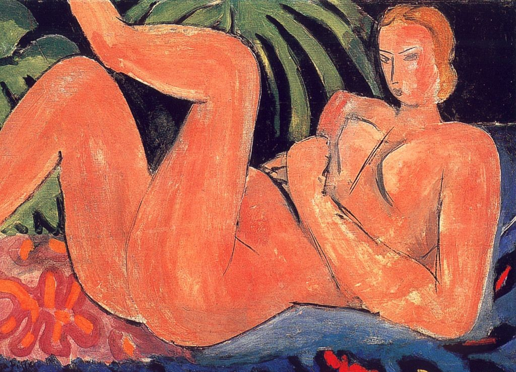 nude with hell on knee - 1936