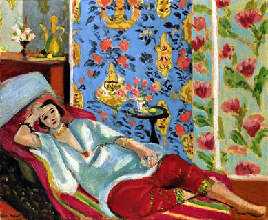 Odalisque in Red Trousers, c.1924-1925 Oil on canvas. 50.0 x 61.0cm Musée de l'Orangerie, Paris