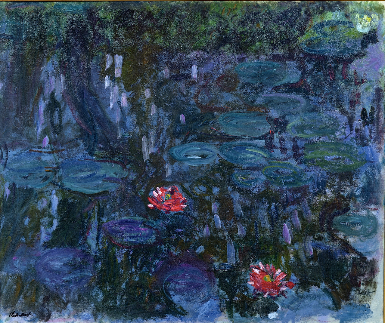 Water Lilies and Reflections of a Willow (1916–19), Musée Marmottan Monet