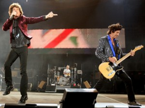Rolling Stones Perform At The Isle Of Wight Festival 2007