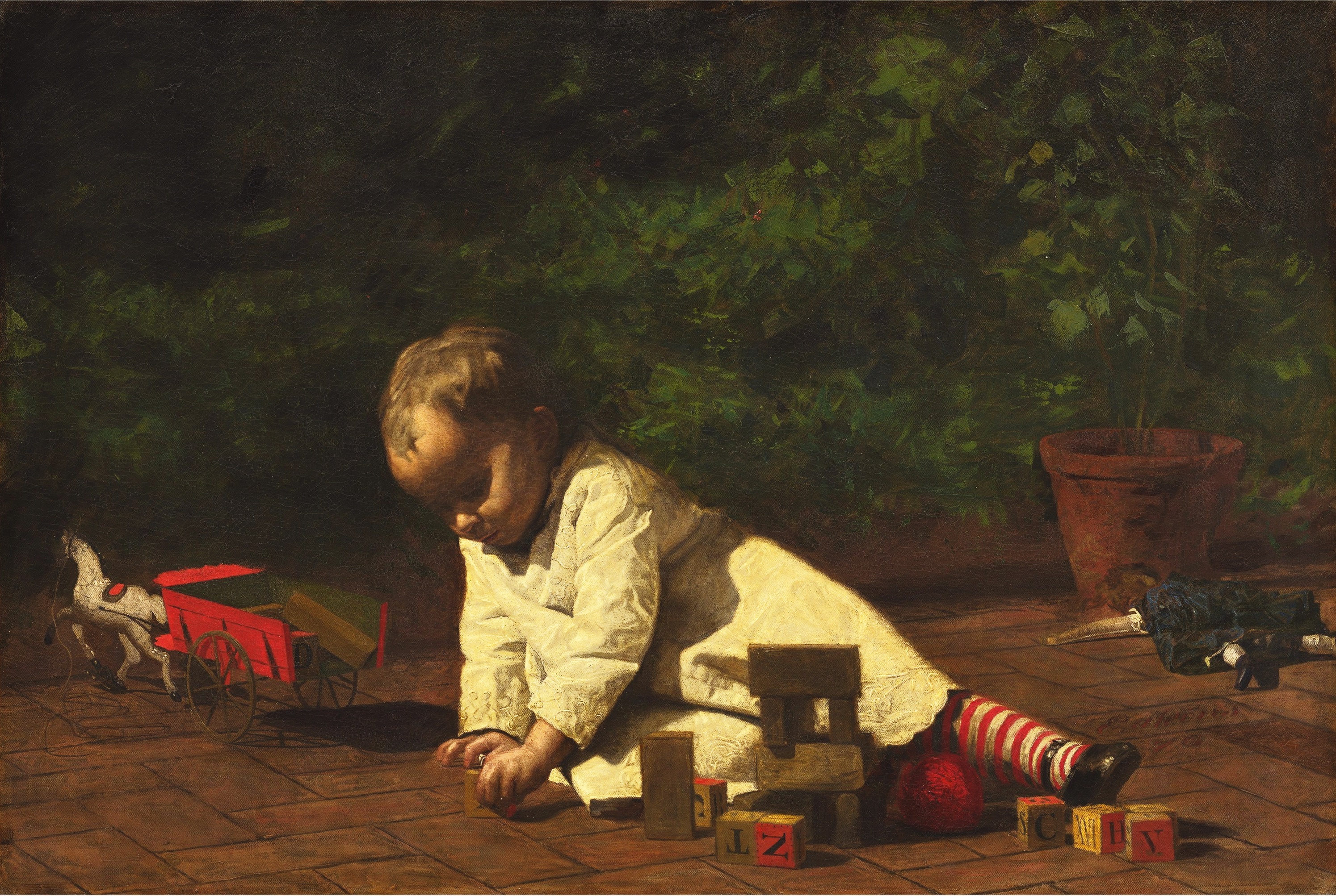 Thomas_Eakins_-_Baby_at_Play
