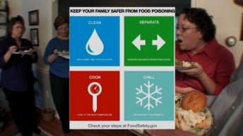 Check Your Steps!, Keep Food Safe