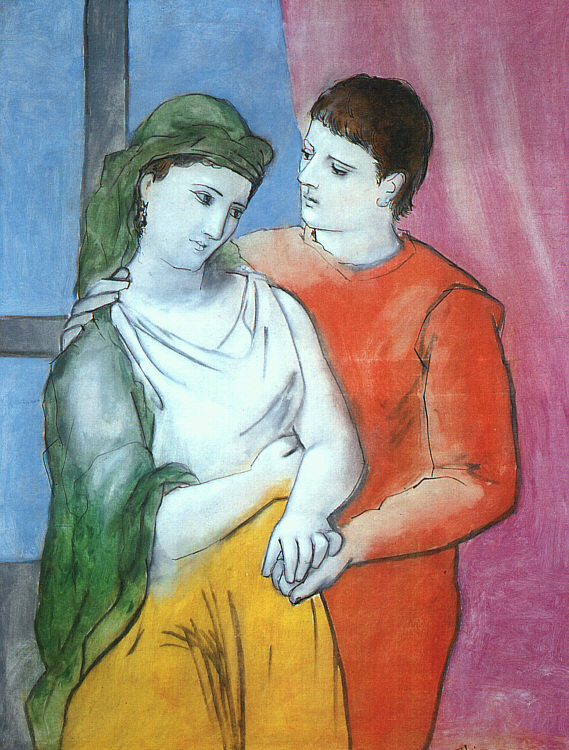 The Lovers, 1923, National Gallery of Art, Washington D.C