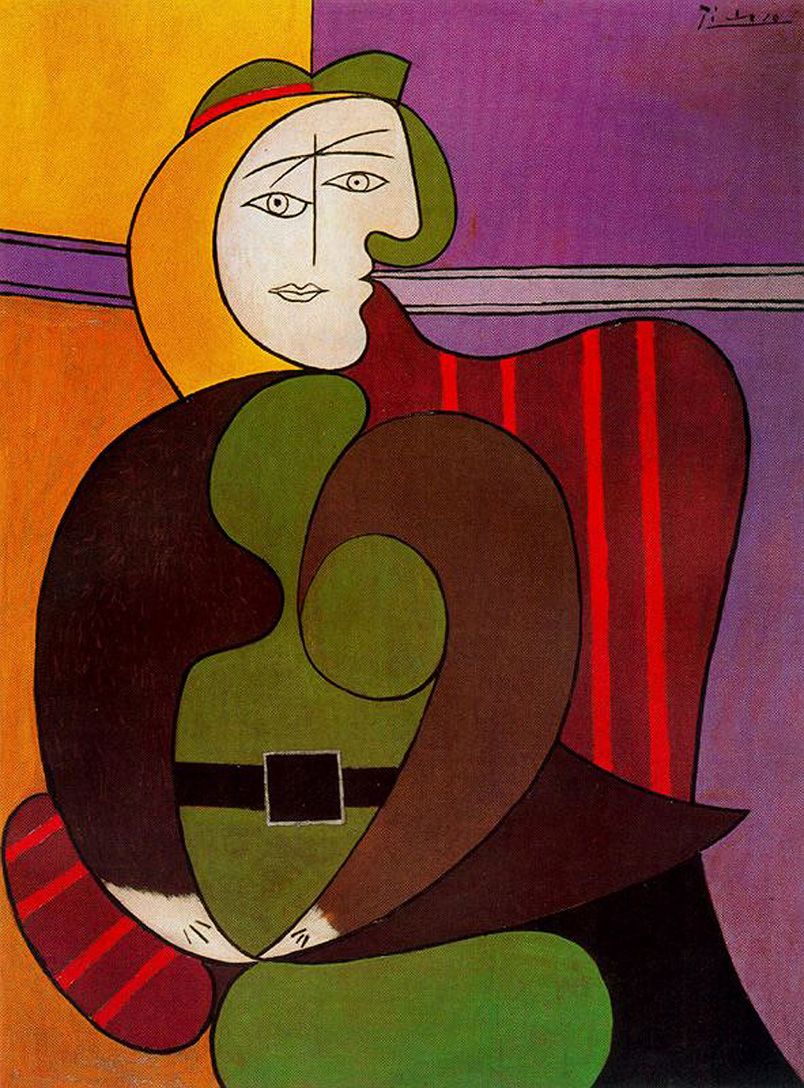 1931 Woman in a Red Armchair
