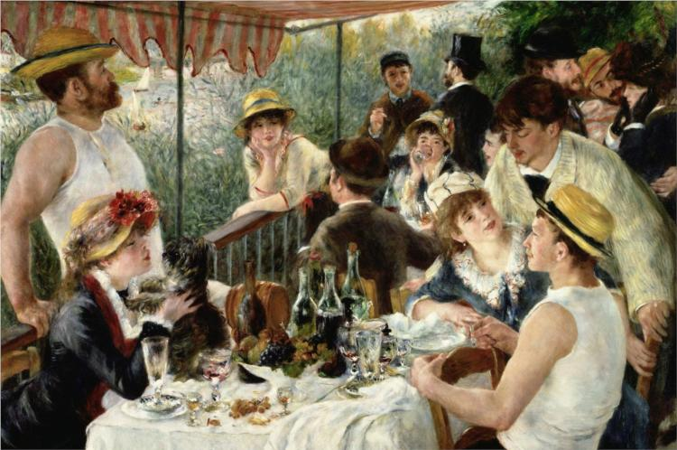 the luncheon of the boating party