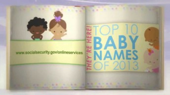 Top Baby Names in United States