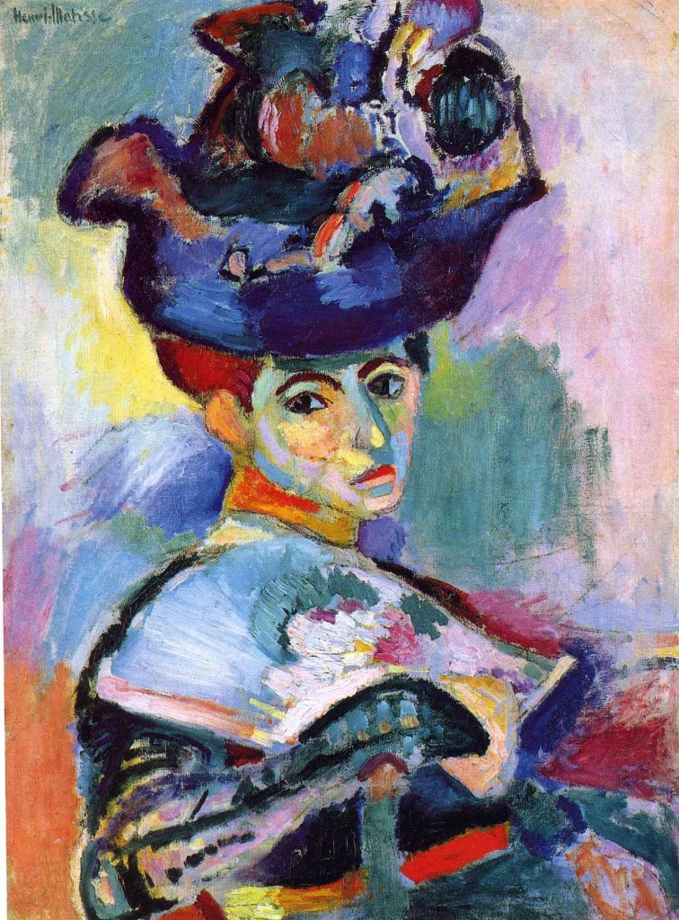 woman with hat - 1905