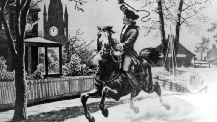 Paul Revere's Ride by Longfellow